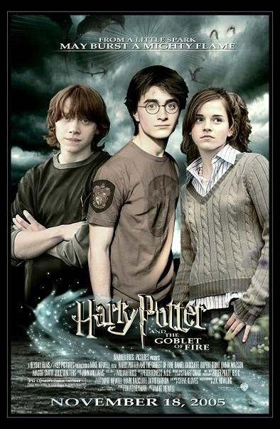هري پاتر4 (جام آتش) (دنیل رادکلیف و اما واتسون)