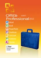 Microsoft Office 2010 Professional Final RTM - نسخه نهایی آفیس 2010(نسخه 64 بیت)