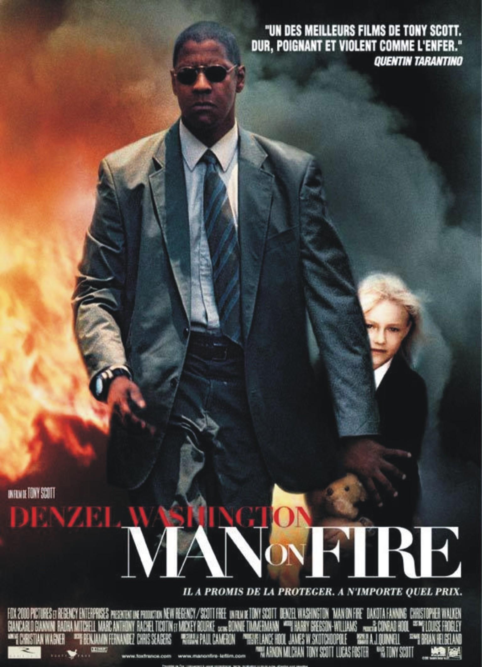 مردي در آتش (دنزل واشنگتن)