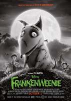 Frankenweenie – انیمیشن فرانکنوینی