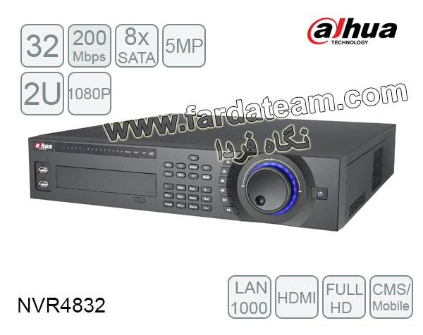 دستگاه NVR داهوا 32 کانال DH-NVR4832