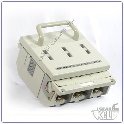 کلیدفیوز 400 آمپر اصفهان کلید با مواد عایقیBMC