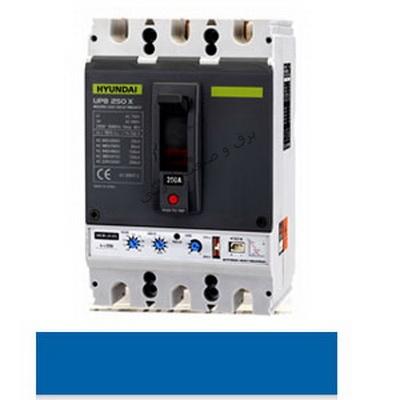 کلید اتوماتیک کمپکت قابل تنظیم الکترونیکی 3 پل 1600 آمپر هیوندا کره
