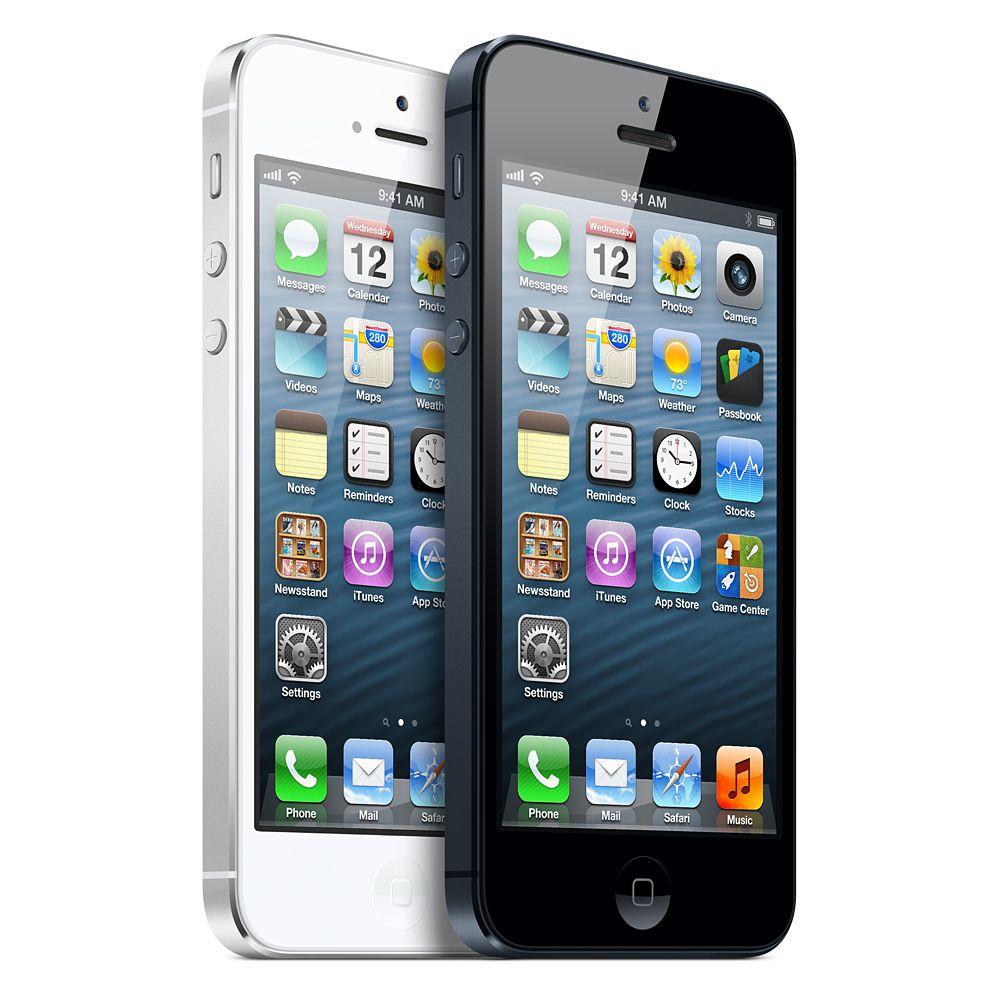 طرح اصلی Apple iphone 5 با اندروید ۴