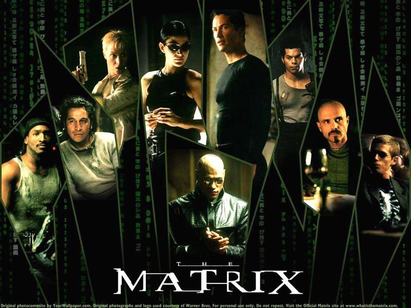 ماتریکس ۱ (کیانو ریوز و لورنس فیشبورن)