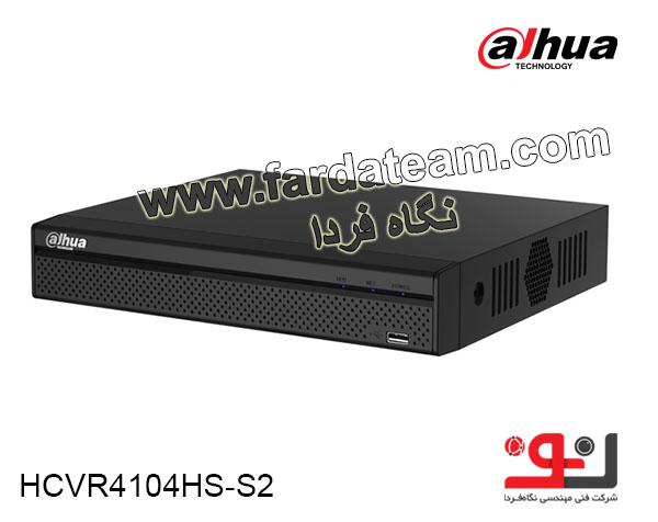 دستگاه ضبط 4 کانال  HDCVI 720P DAHUA  داهوا HCVR4104HS-S2