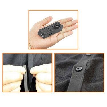 کوچکترین دوربین مداربسته دنیا!یک دکمه پیراهن!!!