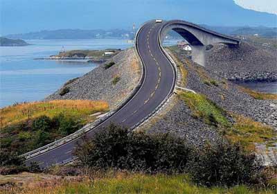 جاده اقیانوسه نروژ