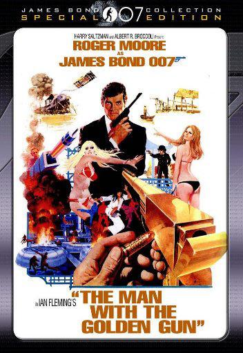 فیلم کلاسیک مردي با طپانچه طلائي (راجر مور)