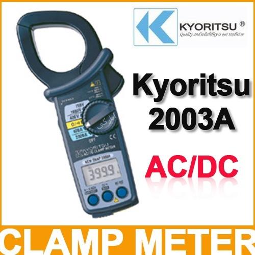 کلمپ آمپر متر دیجیتال کیوریتسو  KYORITSU AC/DC Digital Clamp Meters2003A