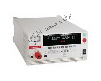 تستر مقاومت عايق ، ميگر AUTOMATIC INSULATION / WITHSTANDING HiTESTER 3153