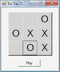 دانلود پروژه بازی دوز به زبان سی شارپ #C