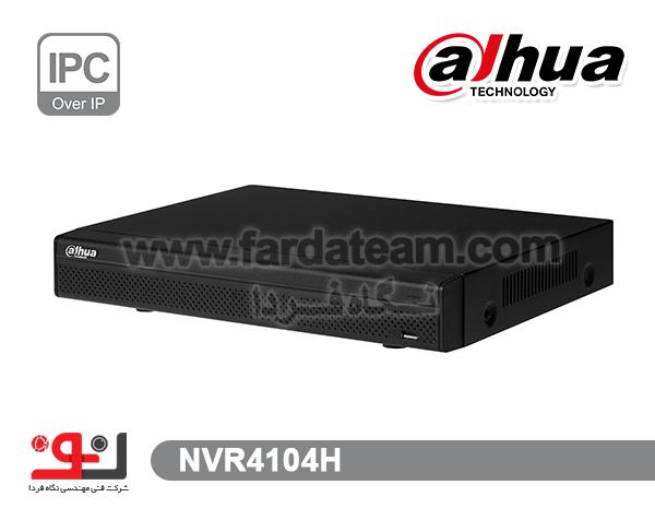 دستگاه NVR داهوا 4 کانال NVR4104H