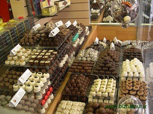 موزه کاکائو و شکلات در بروکسل