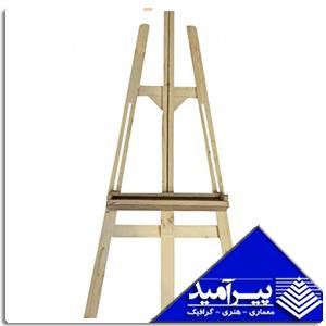 سه پایه دوشیار چوبی سفید