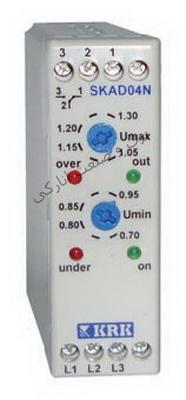 سوپر کنترل فاز بدون نول  SKAD 04N