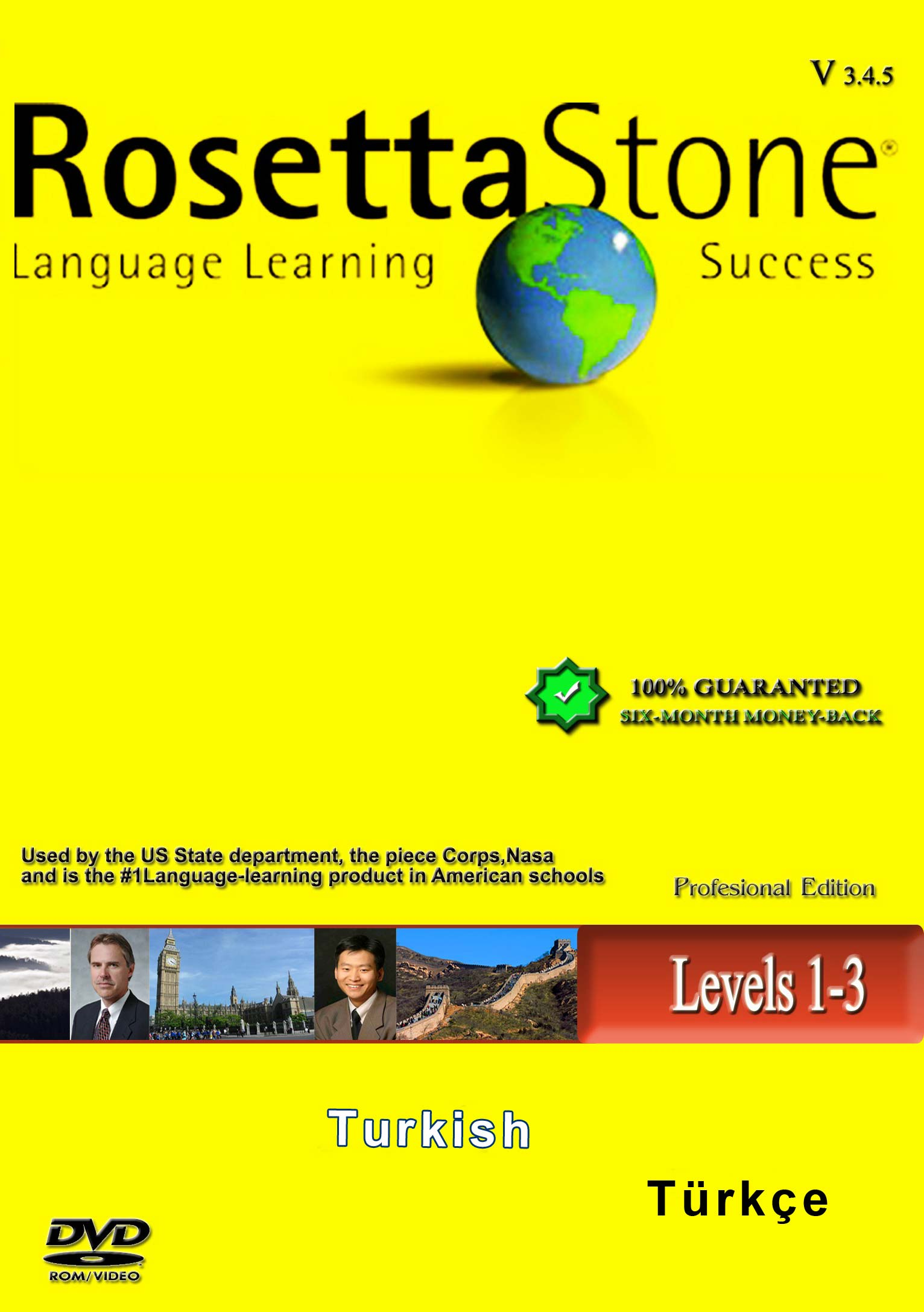 Rosetta Stone Turkish Version 3 - آموزش زبان ترکی رزتا استون ورژن 3