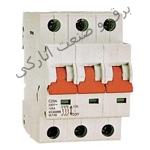 کلید مینیاتوری سه فاز تیپ موتوری (روشنایی) 6 تا 63 آمپر هیوندا کره