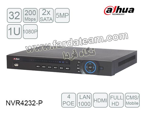 دستگاه NVR داهوا 32 کانال DH-NVR4232-P