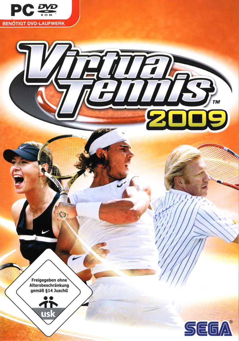 virtua tennis 2009((تکی2000تومان عمده1100تومان(هر5عدد) ))