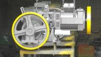 موتورگیربکس آسانسور هایسونگ
