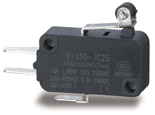 میکرو سوئیچ ریز فیشی   V-155