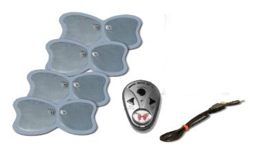 ماساژور پروانه ای - Butterfly ABS  6 برنامه مختلف ماساژ استفاده بسيار آسان  کوچک و قابل حمل