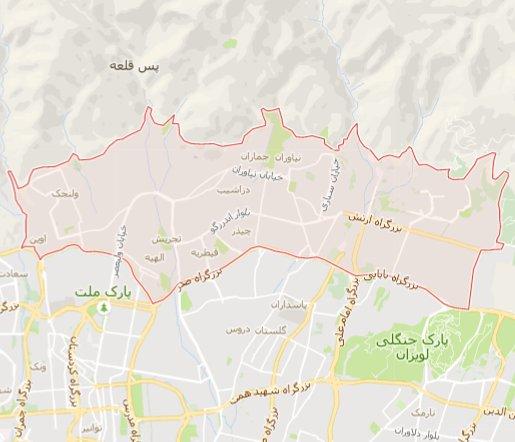 قالیشویی در منطقه یک تهران