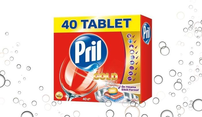 قرص ماشین ظرفشویی پریل 40 عددی - Pril