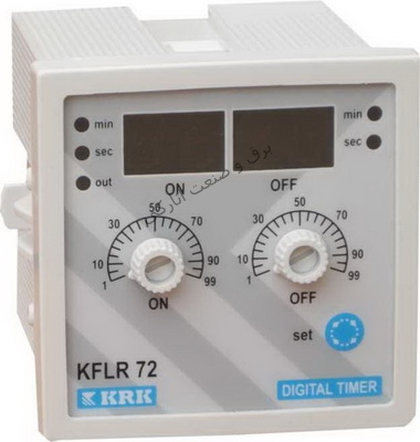 تایمر تکرارکننده دیجیتالی72*72 KFLR