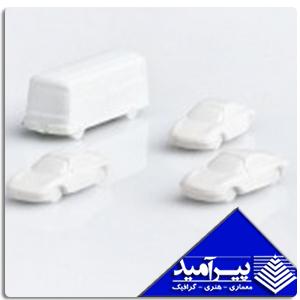 ماشين 1/500 سفید ( 25 عددي )