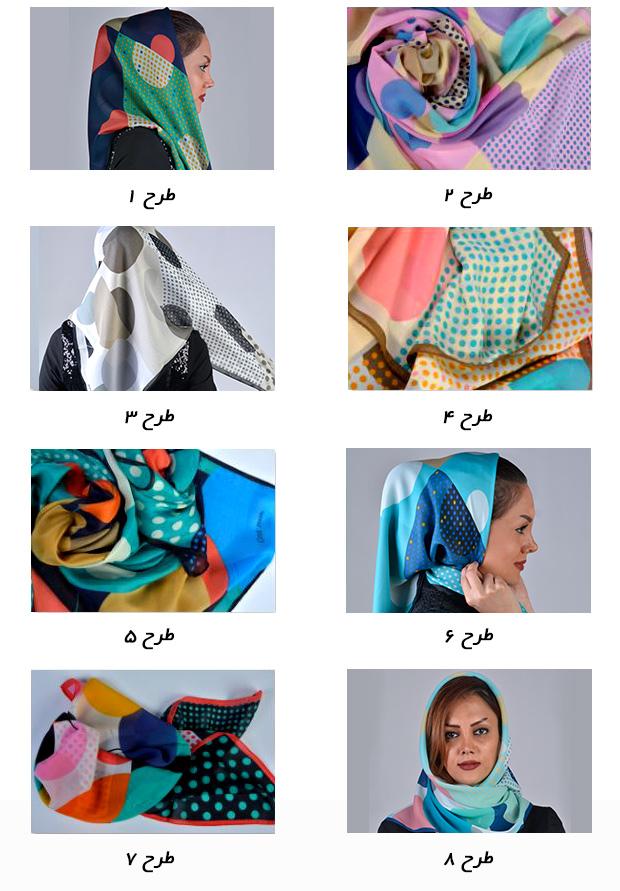 روسری GNT SILK  روسری فوق العاده زيبا