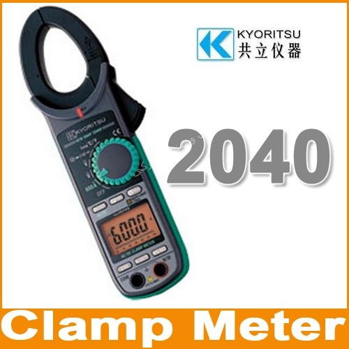 کلمپ آمپر متر AC / DC کیوریتسو  KYORITSU Digital Clamp Meters 2040
