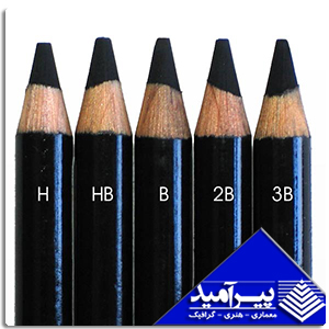 مداد كنته مشكي 3B
