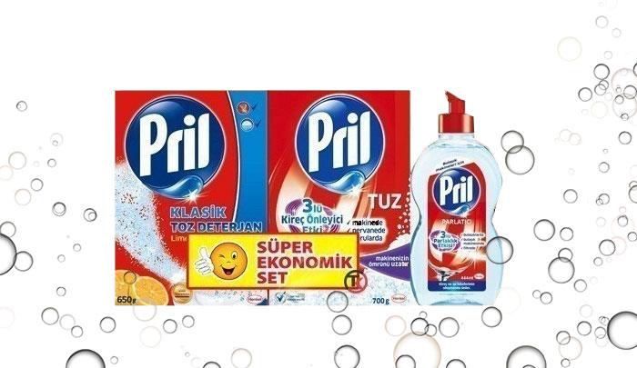 ست ماشین ظرفشویی پریل - Pril