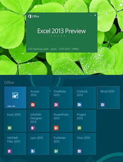 آموزش کاربردی و ساده امکانات و قابلیت های جدید نرم افزارهای Office 2013