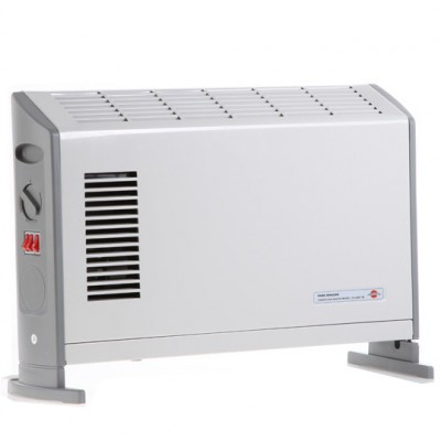 بخاري برقی فن دار
