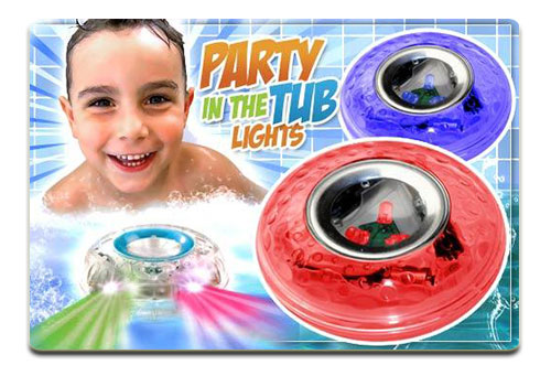 چراغ توپی رقص نور دار  Party In The Tub Light
