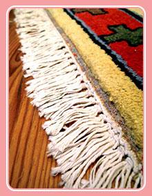 ترمیم ریشه فرش و قالی