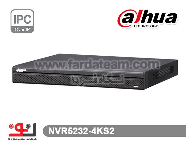 دستگاه NVR داهوا 32 کانال  NVR5232-4KS2