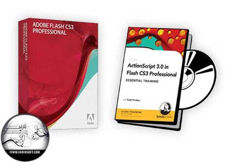 آموزش کدنویسی ActionScript 3.0 برای فایل های Flash CS3