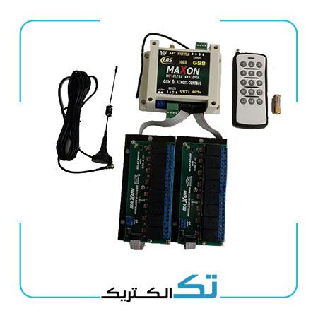 کنترل راه دور پیامکی 16 کانال با ریموت رادیویی