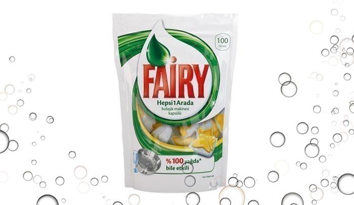 قرص ماشین ظرفشویی فیری ترکیه 100 عددی - Fairy