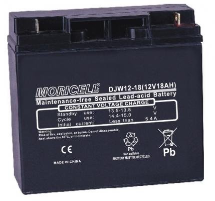 باتری 12 ولت 18 آمپر ساعت