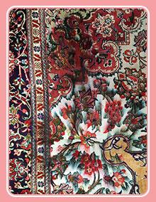 رنگ برداری فرش