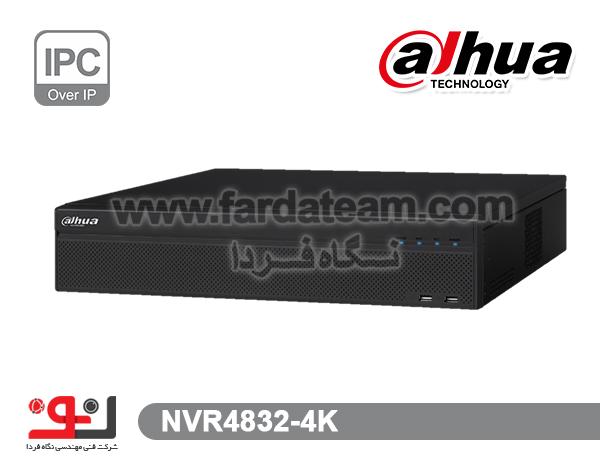 دستگاه NVR داهوا 32 کانال  NVR4832-4k