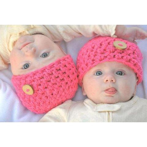 خرید کلاه بافت نوزادی