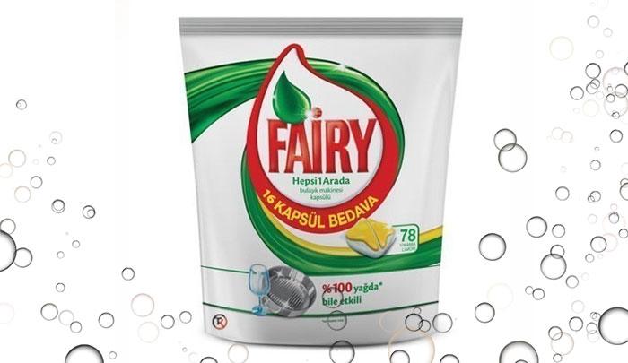 قرص ماشین ظرفشویی فیری ترکیه 78 عددی - Fairy