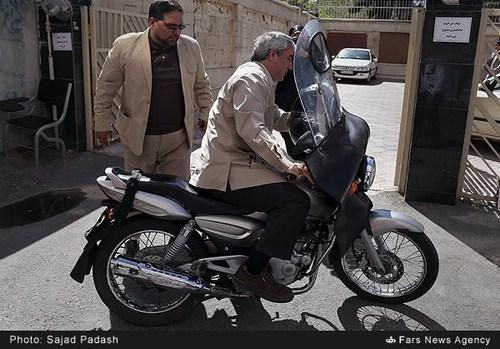 وسیله نقلیه ابراهیم حاتمی کیا (عکس)