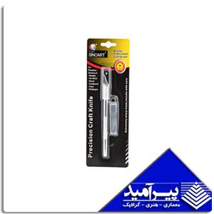 كاتر قلمي مدل آمریکائی با دو تيغ اضافي